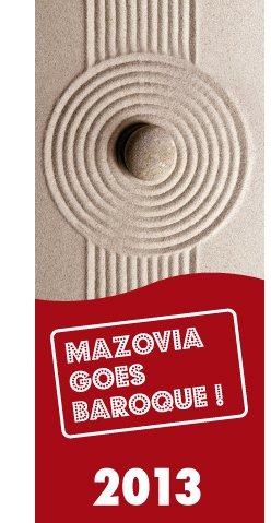 """"""" Mazovia Goes Baroque"""" (źródło: materiały prasowe)"""
