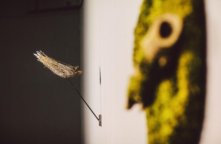 """Praca Michał Smandka, wystawa """"Mleczne zęby"""", Galeria BWA w Katowicach, fot. Artur Berwisz (źródło: materiały prasowe organizatora)"""