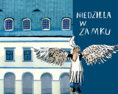 """""""Niedziela w Zamku Ujazdowskim"""", okładka (źródło: materiał prasowy)"""