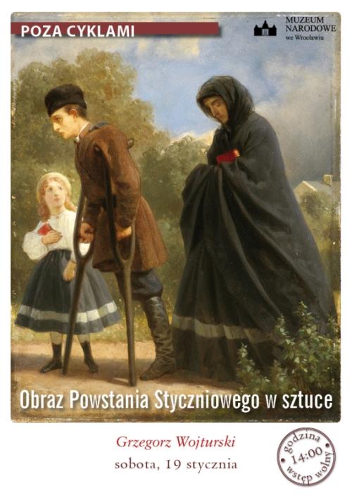 """""""Obraz Powstania Styczniowego w sztuce"""", plakat (źródło: materiały prasowe)"""