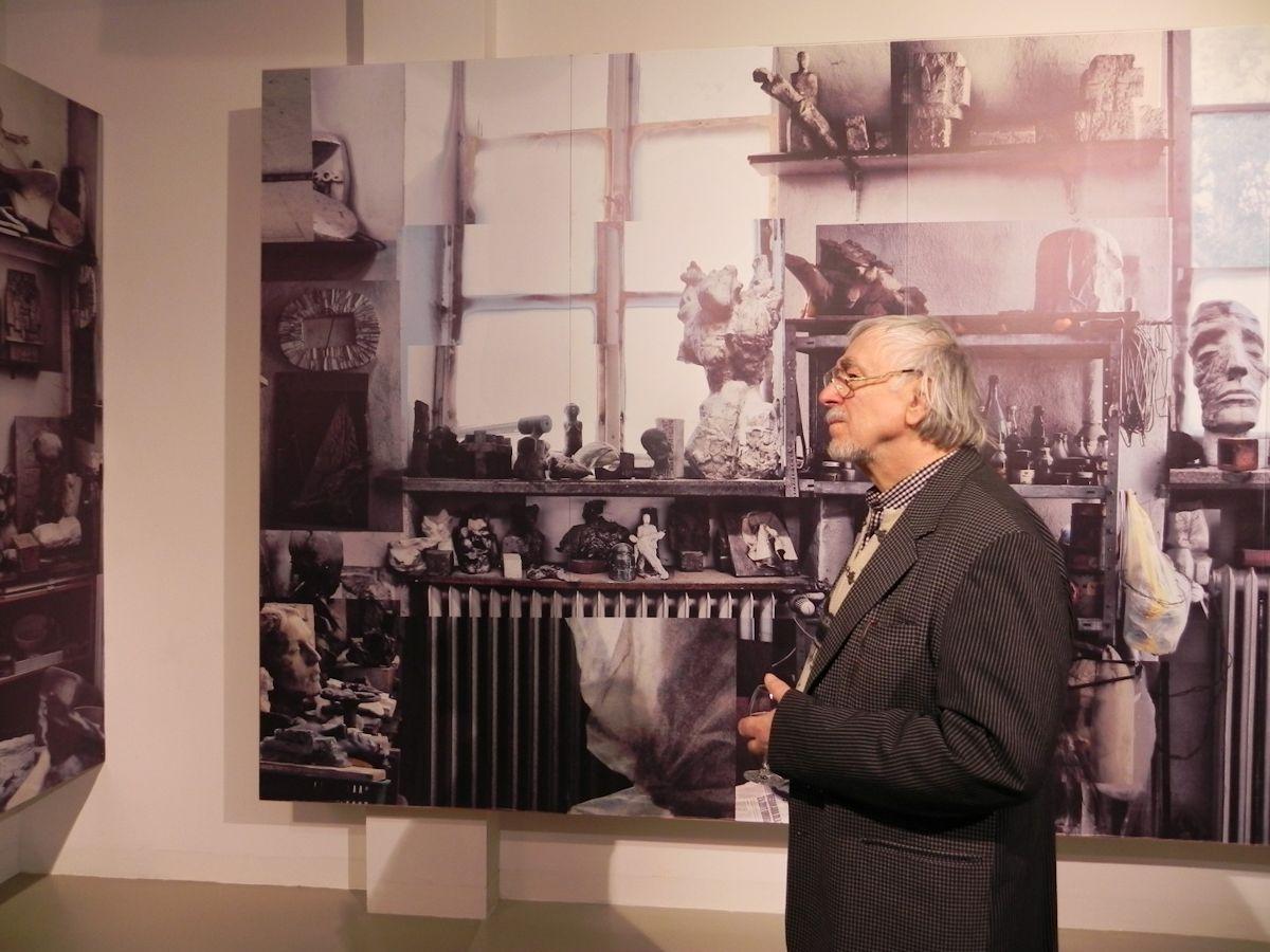 Wystawę poświęcona pamięci prof. Franciszka Duszeńki, Gdańska Galeria Güntera Grassa (źródło: materiały prasowe organizatora)