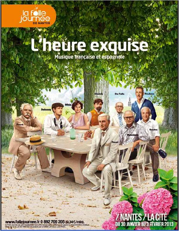 Festiwal Szalone Dni Muzyki we Francji, plakat (źródło: materiały prasowe)
