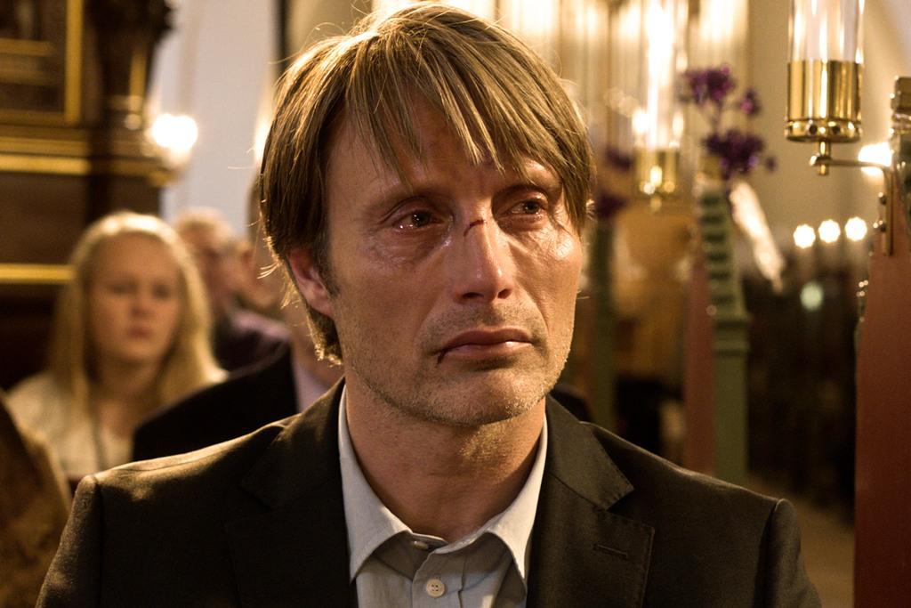 """Polowanie"", reż. Thomas Vinterberg - kadr z filmu (źródło; materiały prasowe)"