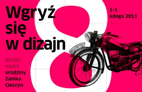 Wgryź się w dizajn, 8. urodziny Zamku Cieszyn (źródło: materiały prasowe organizatora)