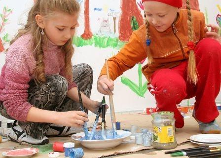Warsztaty dla dzieci w Galerii Arsenał (źródło: materiały prasowe organizatora)