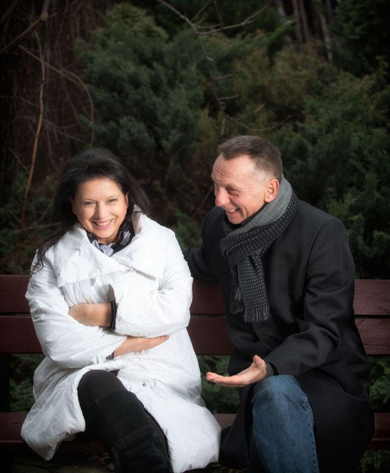 """""""Pocałunek"""", reż. Adam Sajnuk - próba spektaklu, fot. Magda Hueckel (źródło: materiały prasowe)"""