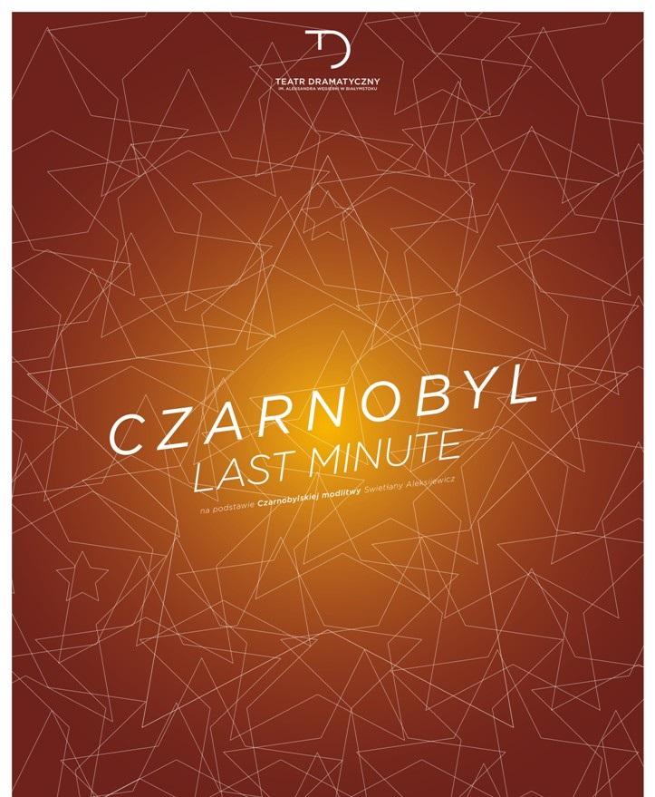 """""""Czarnobyl. Last Minute"""", reż. Agnieszka Korytkowska-Mazur - plakat (źródło: materiały prasowe)"""