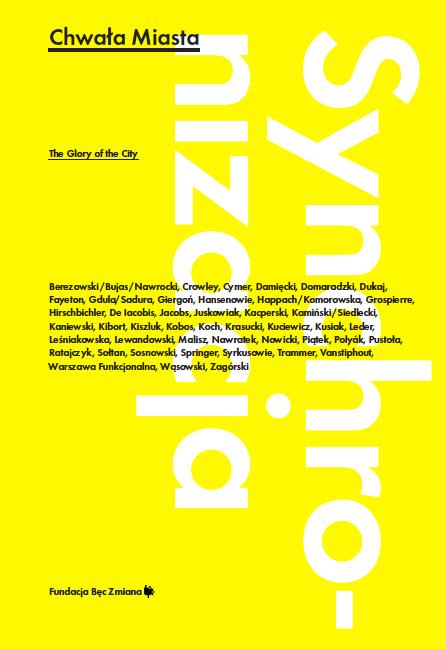 """""""Synchronizacja: Chwała miasta"""", okładka (źródło: materiały prasowe)"""