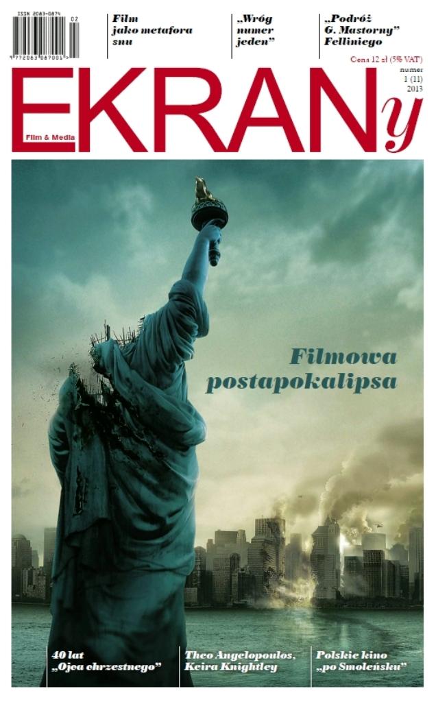 """""""EKRANy. Filmowe Postapokalipsy"""" - okładka czasopisma (źródło: materiały prasowe)"""