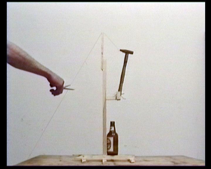 """Igor Krenz, """"Ogień jest lepszy od nożyczek"""", 1990, film, dzięki uprzejmości artysty"""