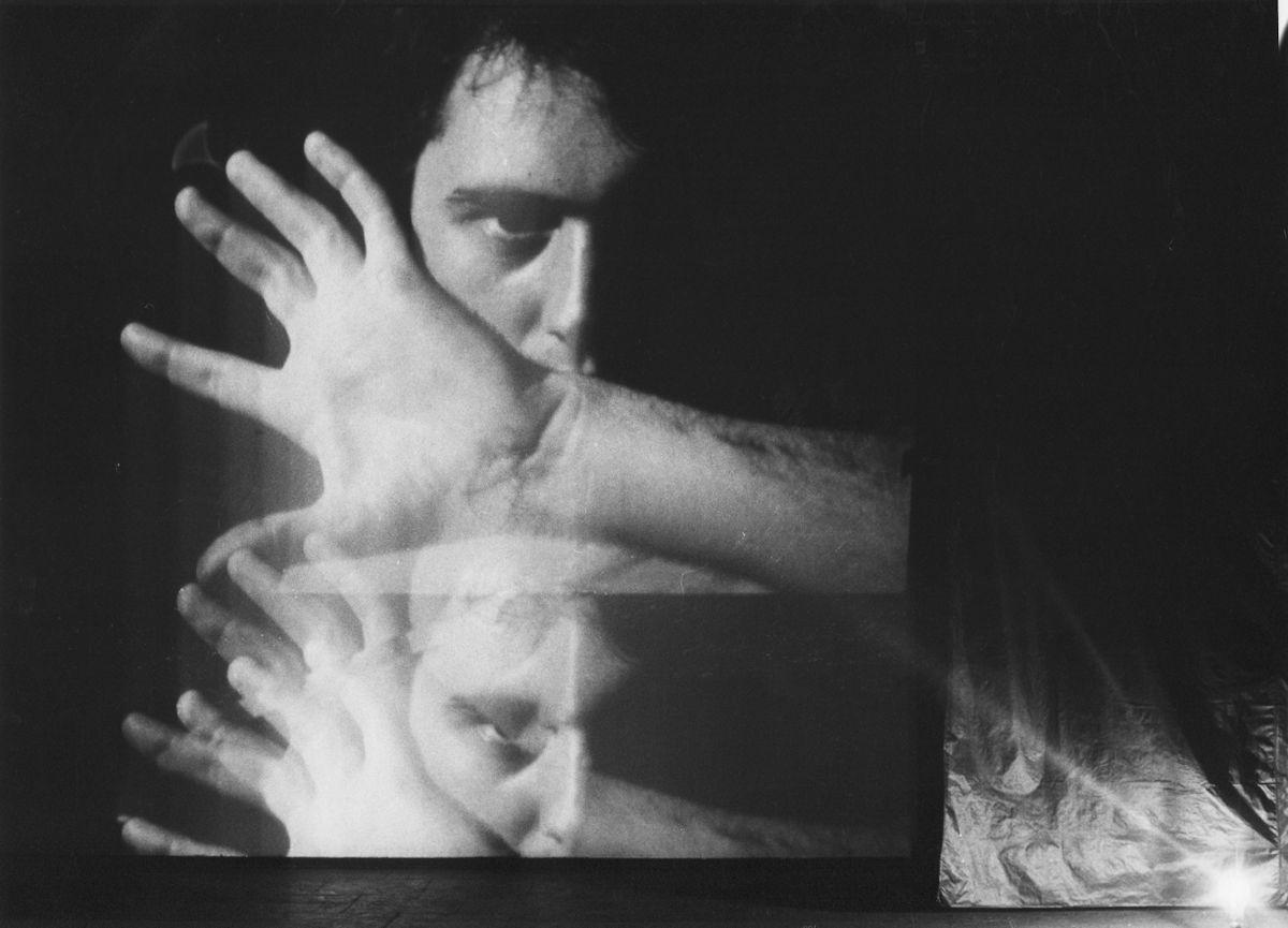 """John Blake, """"Oślepienie"""", 1984, video (źródło: materiały prasowe organizatora)"""