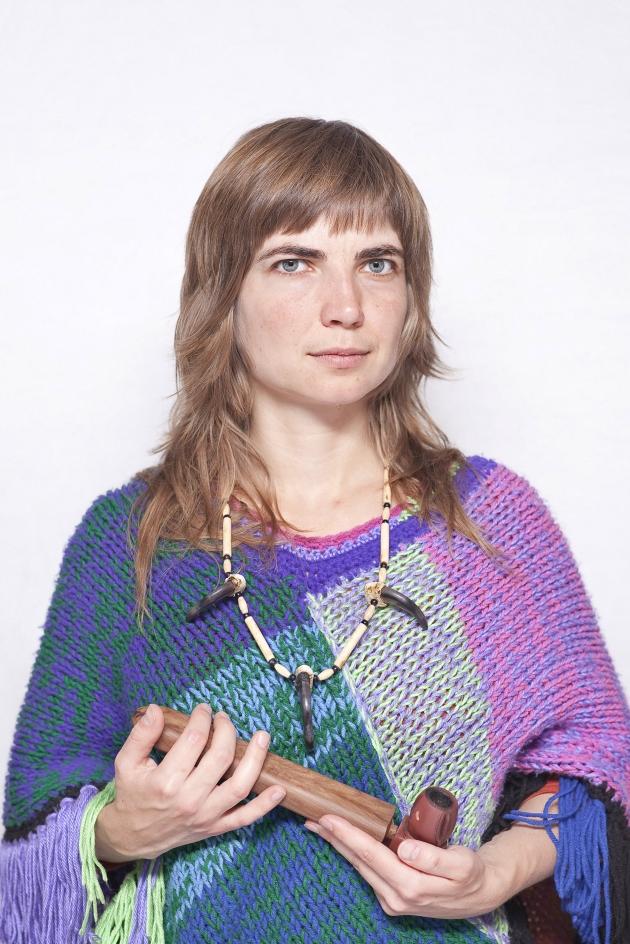 """Katarzyna Majak, """"Kasia Emilia, jest"""", z cyklu """"Kobiety Mocy"""", dzięki uprzejmości artystki i galerii Porter Contemporary NY"""