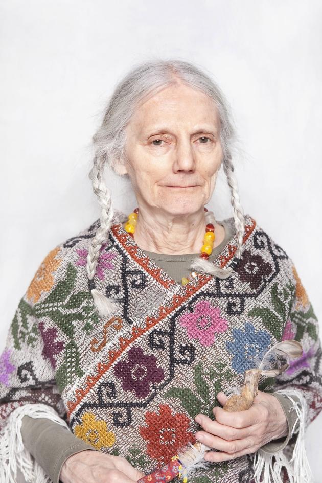 """Katarzyna Majak, """"Maria, uzdrowicielka i wizjonerka"""", z cyklu """"Kobiety Mocy"""", dzięki uprzejmości artystki i galerii Porter Contemporary NY"""