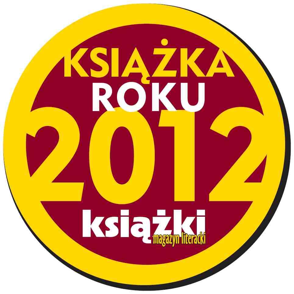"""Książka Roku 2012, """"Magazyn Literacki Książki"""", logo (źródło: materiał prasowy)"""