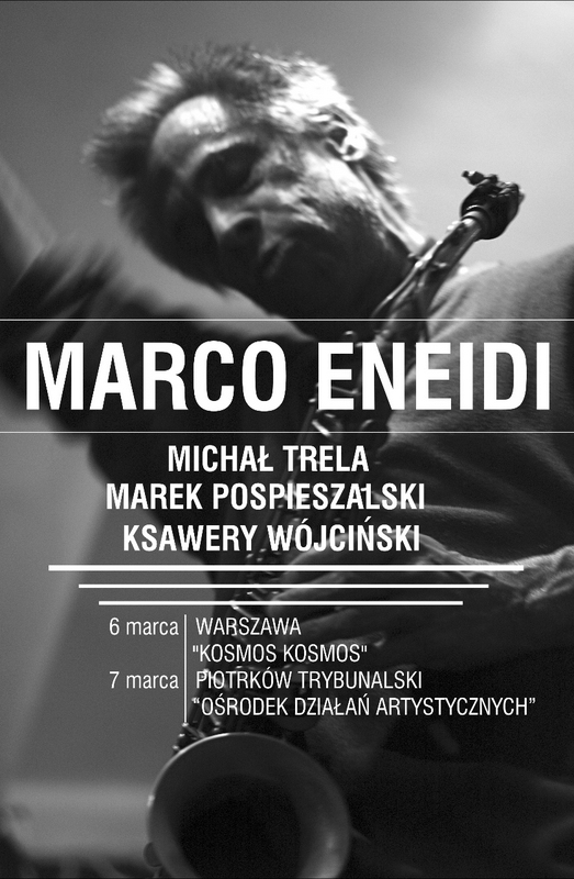 Marco Eneidi, plakat (źródło: materialy prasowe)