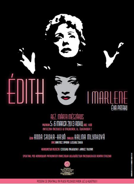 """""""Édith i Marlene"""", reż. Márta Mészáros - plakat (źródło: materiały prasowe)"""