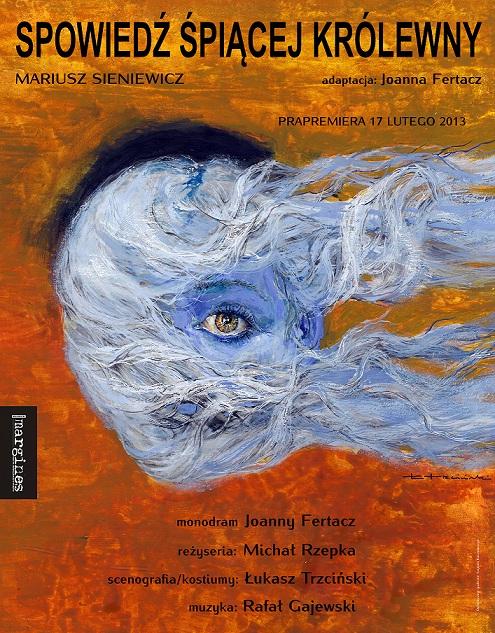 """""""Spowiedź Śpiącej Królewny"""", reż. Michał Rzepka - plakat (źródło: materiały prasowe)"""