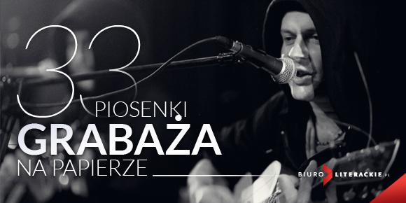 """""""Na skrzyżowaniu słów"""", Krzysztof """"Grabaż"""" Grabowski, logo (źródło: materiał prasowy)"""
