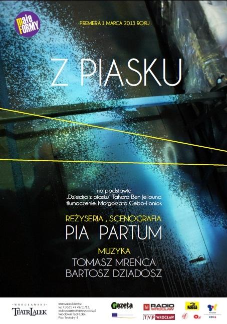 """Z piasku"", reż. Pia Partum - plakat (źródło: materiały prasowe)"