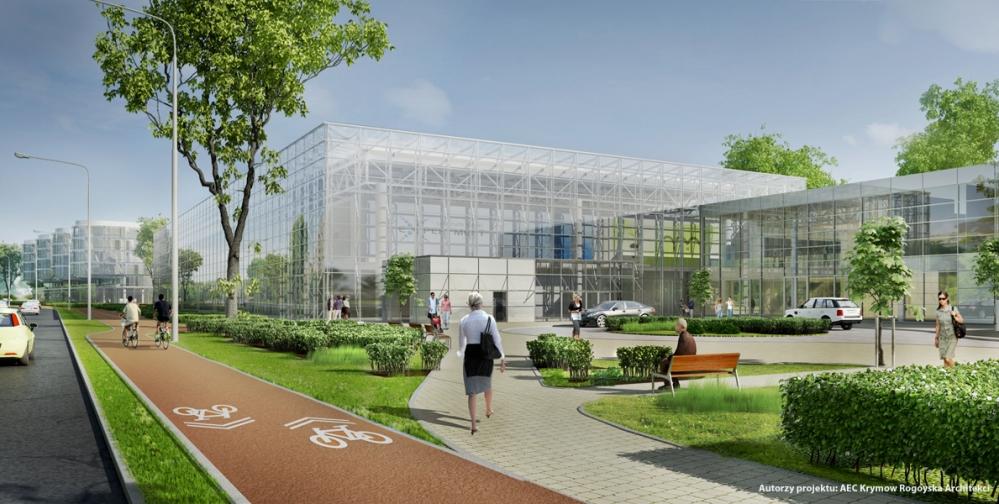 Rozbudowa PPNT w Gdyni, wizualizacja (źródło: materiały prasowe organizatora)