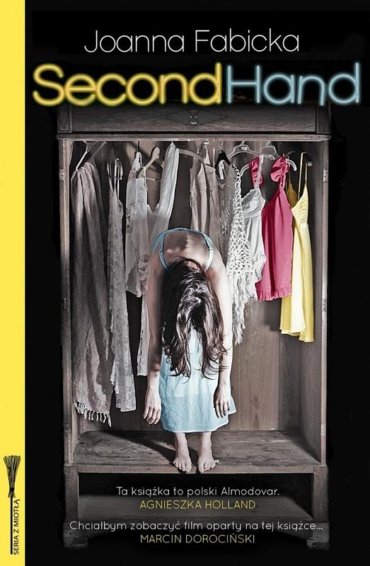 """""""Second Hand"""", Joanna Fabicka, okładka (źródło: materiał prasowy)"""