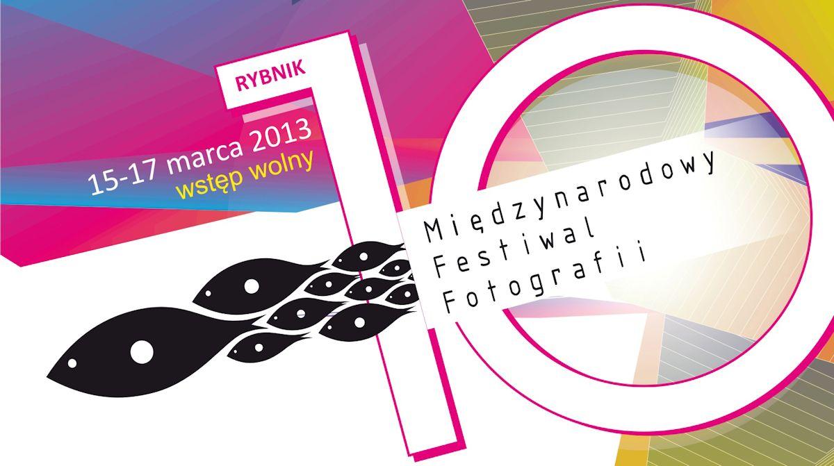 10. Międzynarodwy Festiwal Fotografii w Rybniku, plakat (źródło: materiały prasowe organizatora)
