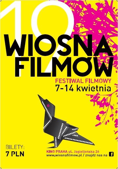 19. Festiwal Wiosna Filmów w Warszawie - plakat (źródło: materiały prasowe)