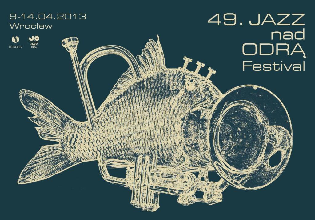"""49. Wrocławski Festiwal Jazzowy """"Jazz nad Odrą"""" - plakat (źródło: materiały prasowe)"""