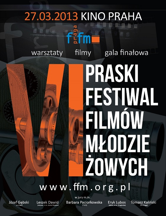 6. Praski Festiwal Filmów Młodzieżowych w Warszawie - plakat (źródło: materiały prasowe)