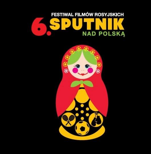 """6. Festiwal Filmów Rosyjskich """"Sputnik Nad Polską"""" - plakat (źródło: materiały prasowe)"""