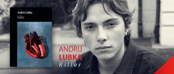 """Andrij Lubka, """"Killer"""", logo (źródło: materiał prasowy)"""