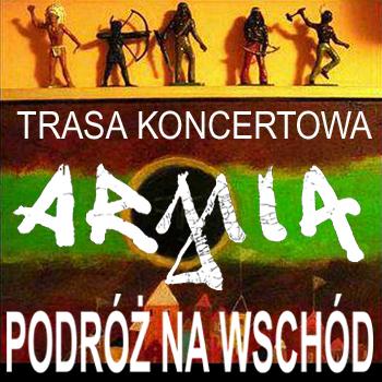 Koncert zespołu Armia - baner (źródło: materiały prasowe)