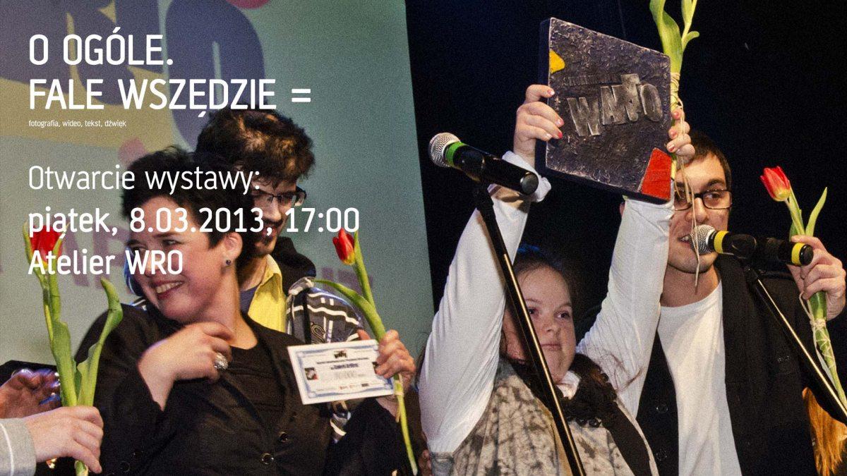 Artyści ArtBrut odbierają Nagrodę wARTo 2013 (źródło: materiały prasowe organizatora)