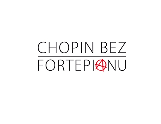 """""""Chopin bez fortepianu"""", logo (źródło: materiał prasowy)"""