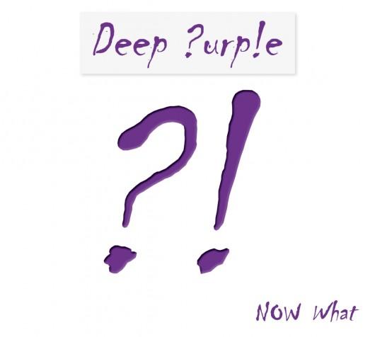 """Deep Purple, """"Now What ?!"""", okładka (źródło: materiał prasowy)"""