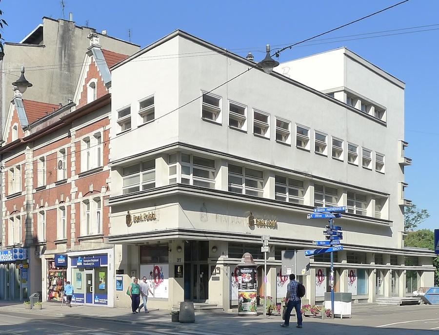 Dom towarowy w Gliwicach, proj. Erich Mendelsohn, fot. Ryszard Nakonieczny (źródło: materiały prasowe organizatora)