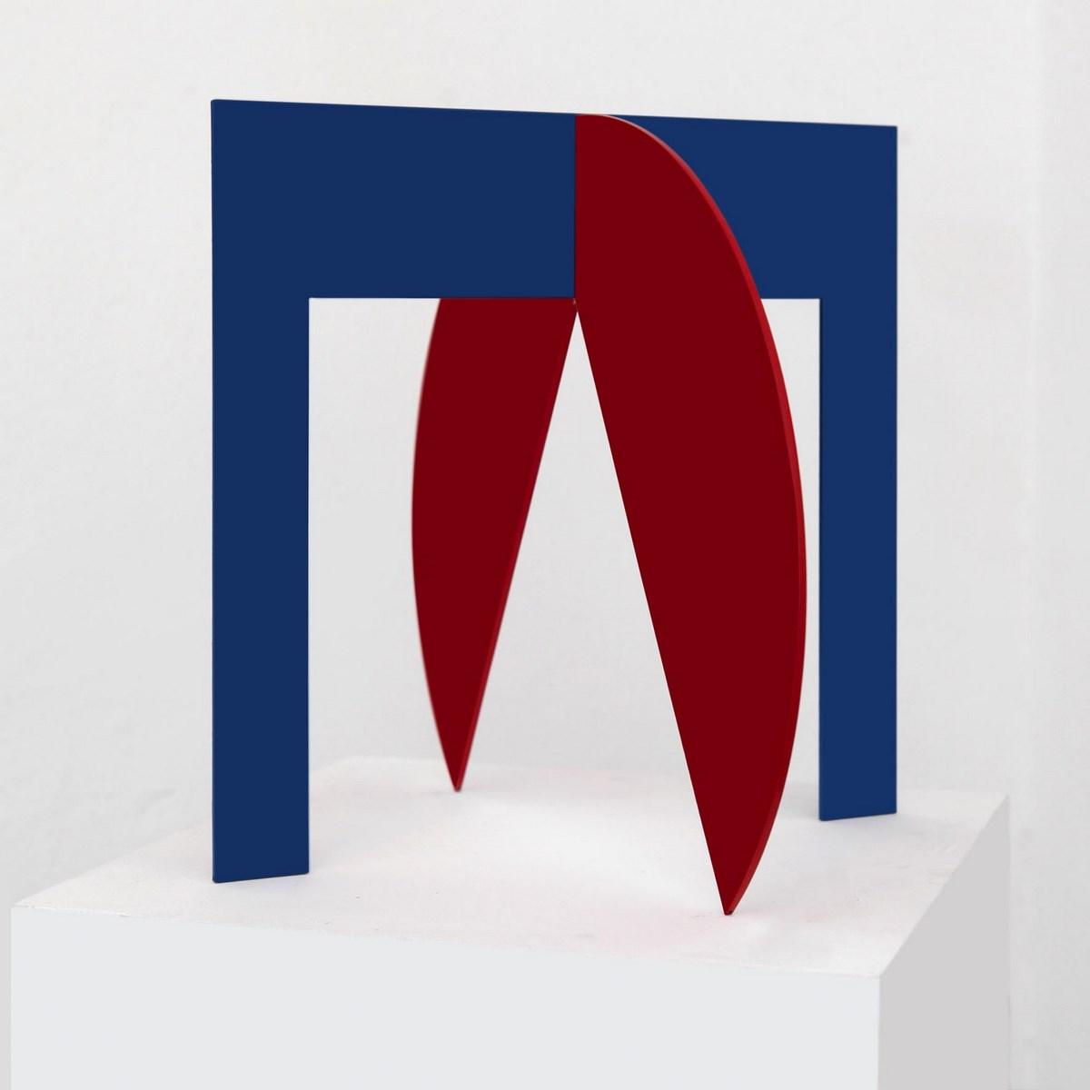 """Ingo Glass, """"Dialog zasadniczych form i barw w przestrzeni"""", 2011 (źródło: materiały prasowe organizatora)"""