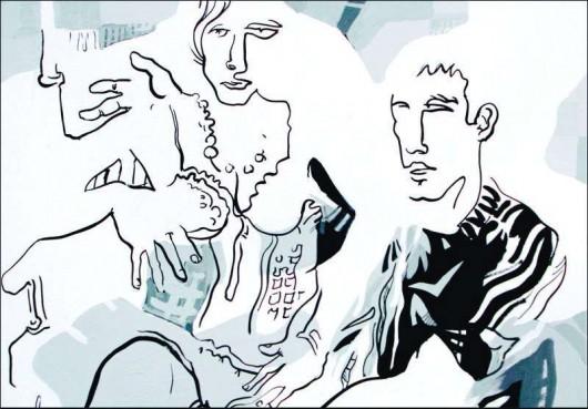 Jacek Dalibor, akryl, płótno (źródło: materiały prasowe organizatora)