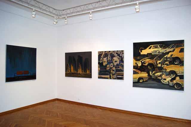 Wernisaż wystawy Jacka Pasiecznego, BWA Galeria Zamojska, 1 marca 2013 r., fot. Janusz Zimon (źródło: materiały prasowe organizatora)