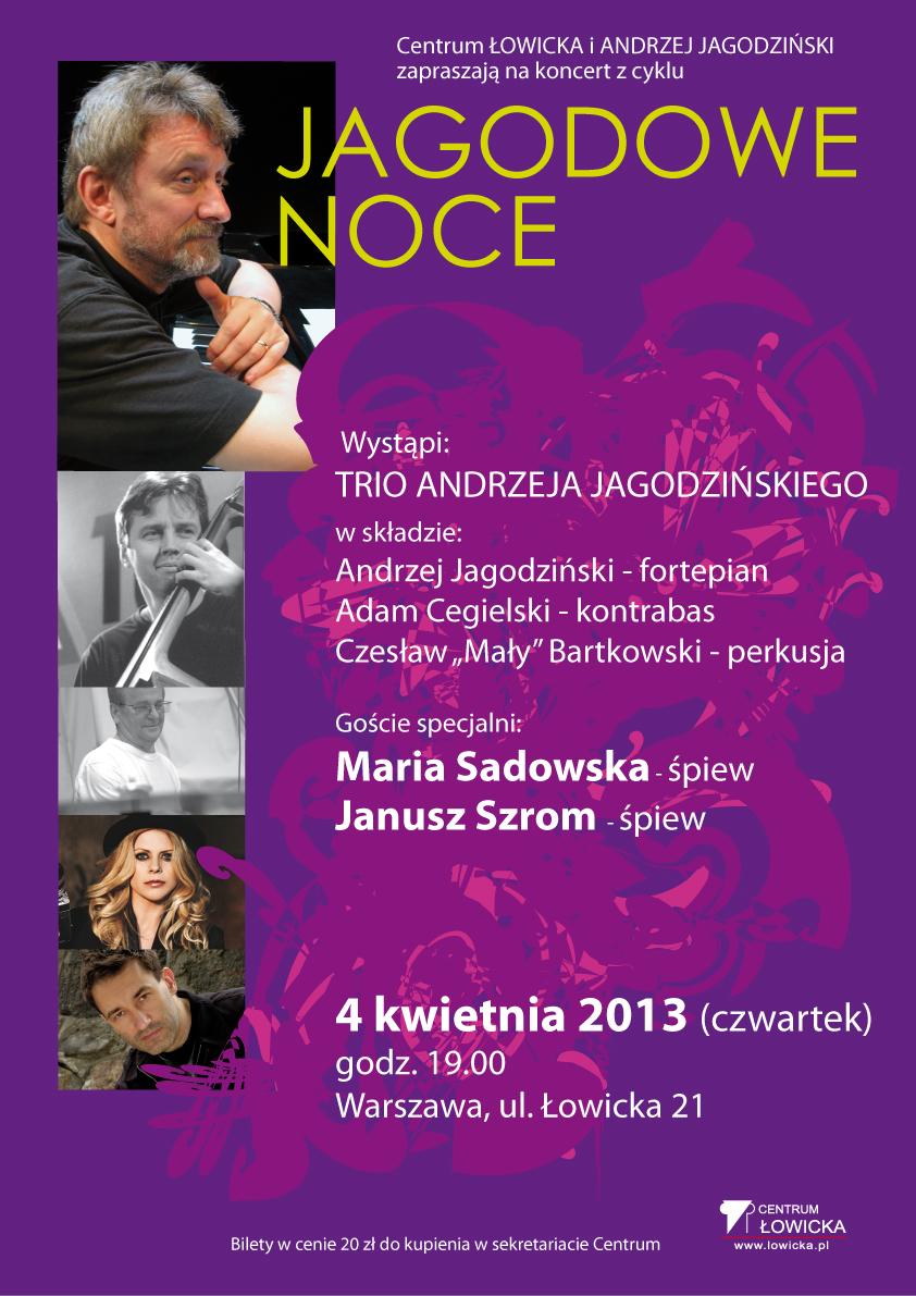 Jagodowe Noce, plakat (źródło: mat. prasowe)