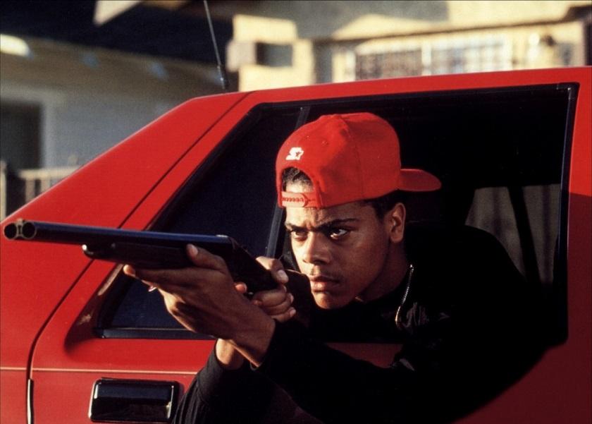 """""""Boys n the Hood"""", reż. John Singleton - kadr z filmu (źródło: materiały prasowe)"""