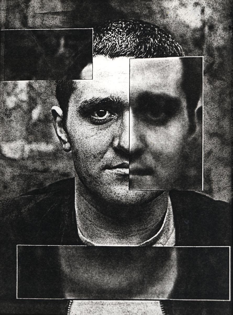 """Józef Robakowski, """"4 pola ostrości"""", 1969, fotografia, dzięki uprzejmości Artysty i lokalu_30"""