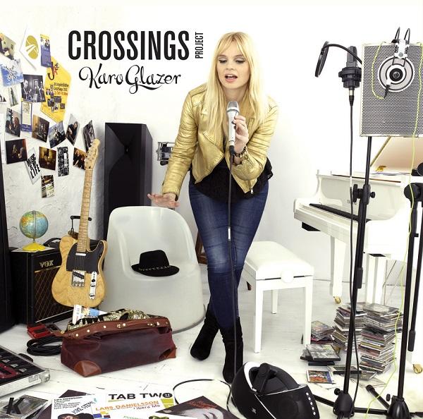"""Karo Glazer, """"Crossings Project"""" - okładka płyty (źródło: materiały prasowe)"""