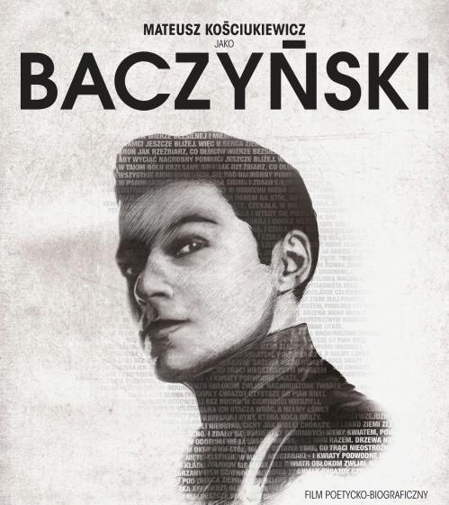 """""""Baczyński"""", reż. Kordian Piwowarski - plakat (źródło: materiały prasowe)"""