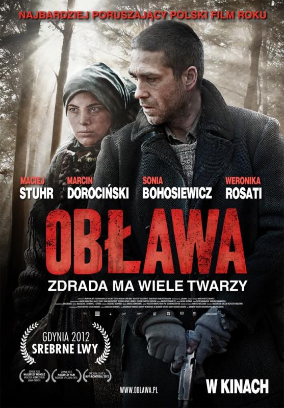 """""""Obława"""", reż. Marcin Kryształowicz - plakat (źródło: materiały prasowe)"""