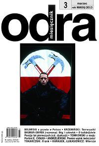 Okładka marcowego numery Odry (źródło: materiały prasowe wydawcy)