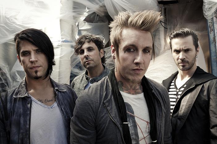 Papa Roach - zespół (źródło: materiały prasowe)