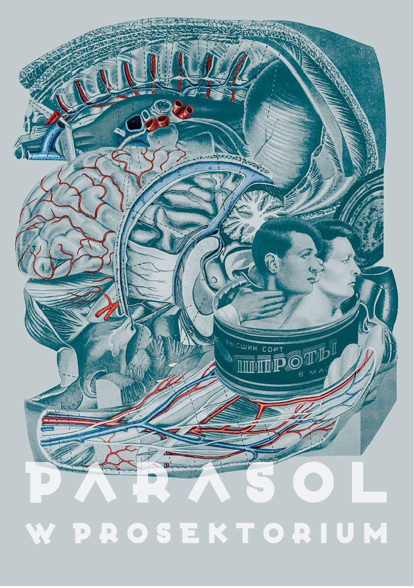 """Wystawa """"Parasol w Akademii"""", Galeria Salon Akademii w Warszawie, plakat (źródło: materiały prasowe organizatora)"""