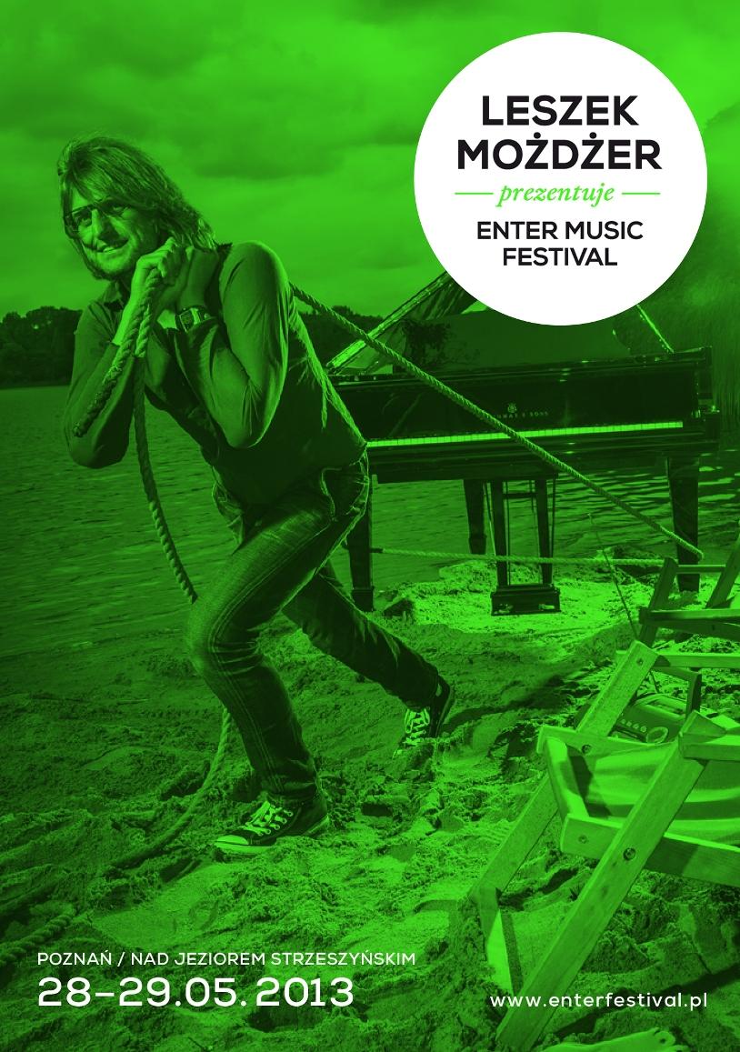 Enter Music Festival 2013, plakat (źródło: materiał prasowy)
