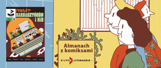 """""""Powrót barbarzyńców i nie"""", okładka – Biuro Literackie (źródło: materiały prasowe wydawcy)"""